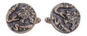 Lion & Snake Cufflinks By Jewellery Mountain