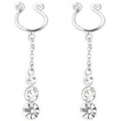 Body Accentz Nipple Ring Bars CZ Rhinestone Non Pierce Body Jewellery sold as pair