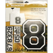 Uniformed Scrapbooks Iron On Numbers