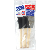 Poly-Sponge Brush Set-5.1cm Wide 3/Pkg