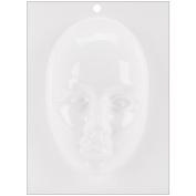 Plaster Casting Plastic Mould 13cm x 23cm -Face Mask