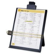 Sparco Easel Document Holders, Adjustable, 10-3/8 x 5.7cm x 32cm , Black