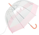 All-Weather 110cm Clear Dome Umbrella