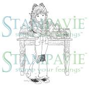 Sarah Kay Stamp-Jacqueline Baking Sweet Treats