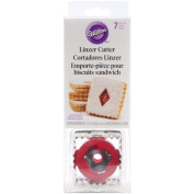 Wilton Linzer Cookie Cutter Set, 7/pkg, Square