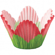 Petal Standard Baking Cups-Red 24/Pkg