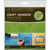 iCraft Adhesive Sheets 5/Pkg-15cm x 15cm