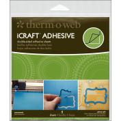 iCraft Adhesive Sheets 5/Pkg-15cm x 15cm
