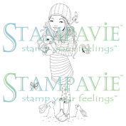 Stampavie Anne Cresci Clear Stamp-Marion 9.5cm