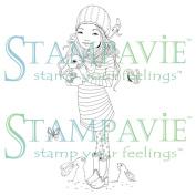Stampavie Anne Cresci Clear Stamp-Marion 9.5cm