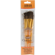Brush Set Camel 3/Pkg Mop 1.3cm 1.9cm 2.5cm