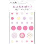 Back To Basics III Brads 26/Pkg