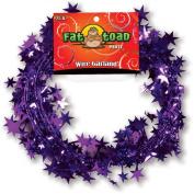 Wire Garland 25 Feet/Pkg-Purple Stars
