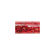 Mode International RSBM-65795 Round Seed Bead Mix 5.5 in.Tube-Red