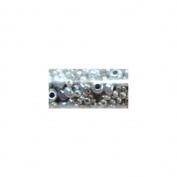 Mode International RSBM-65733 Round Seed Bead Mix 5.5 in.Tube-Gray