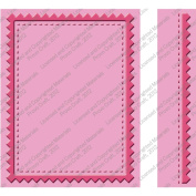 Provo Craft Cuttlebug Embossing Folder Set, Pinking Stitch