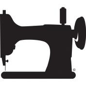 Fibre Flies Decals-Vintage Sewing Machine