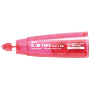 Plus Glue Tape Refill-TG-726 Pink 0.6cm Wide