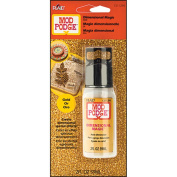 Mod Podge Dimensional Magic-Gold Glitter - 60ml