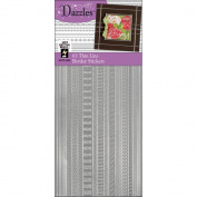 Dazzles Stickers -63 Thin Lines Silver