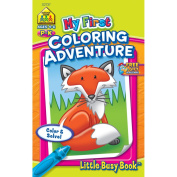 My First Little Busy Book-Colouring Adventure Grades P-K