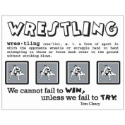 SRM Say It With Stickers Mini-Wrestling