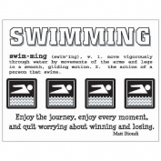 SRM Say It With Stickers Mini-Swimming