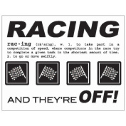 SRM Say It With Stickers Mini-Racing