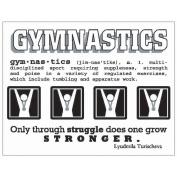 SRM Say It With Stickers Mini-Gymnastics