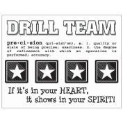 SRM Say It With Stickers Mini-Drill Team