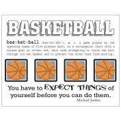 SRM Say It With Stickers Mini-Basketball