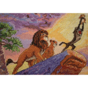 Disney Dreams Collection By Thomas Kinkade The Lion King, 18cm x 13cm 16 Count