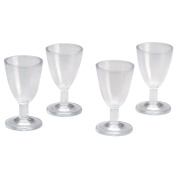 Timeless Miniatures-Wine Glasses 4/Pkg