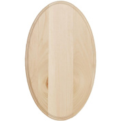 Walnut Hollow Oval Pine Sign, 30cm x 50cm