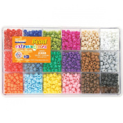 The Beadery Craft Products Crayon Colours Bead Box