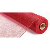 "Deco Mesh Ribbon 21"" X 10 Yards-Red"