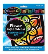 Melissa & Doug Flower Light Catcher Scratch Art Kit