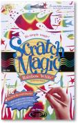 Rainbow Scratch Art White Paper