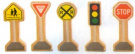 Whittle World - Traffic Signs Set