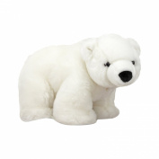 Melissa and Doug 8'' Plush Glacier The Polar Bear Cub Stuffed Animal
