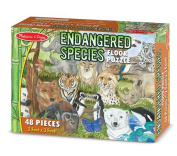 Endangered Species Floor Puzzle (48 PC)