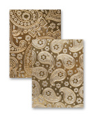 Reversible A4 Embossing Folder-Paisley