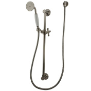 Kingston Brass Kak3528W8 Professional Shower Combination - Satin Nickel Finish