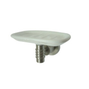 Kingston Brass BAH8615SN Kingston Brass BAH8615SN Milano Wall-Mount Soap Dish Satin Nickel