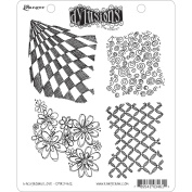 Ranger DYR-34612 Dyan Reaveleys Dylusions Cling Stamp Collection-Background Love