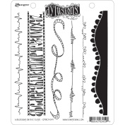 Dyan Reaveley's Dylusions Cling Stamp Collections 22cm x 18cm -Bordering On The Edge
