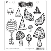 Dyan Reaveley's Dylusions Cling Stamp Collections 22cm x 18cm -Doolally Dorris