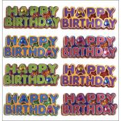 Jolee's Mini Repeats Stickers-Happy Birthday Words