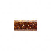 Mode International RSB6-10076 Round Seed Beads 6-0 5.5 in.Tube-Amber