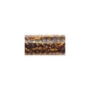 Round Seed Beads 11/0 14cm Tube-Amber Silver Lined
